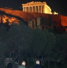 The Acropolis and Parthenon temple of Athens, Greece