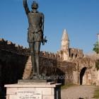 Nafpaktos, Cervantes statue