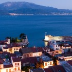 Nafpaktos just after sunset