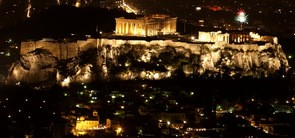 Acropolis and Parthenon view from Lycabettus