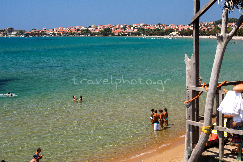 Παραλία στη Μεθώνη Μεσσηνίας