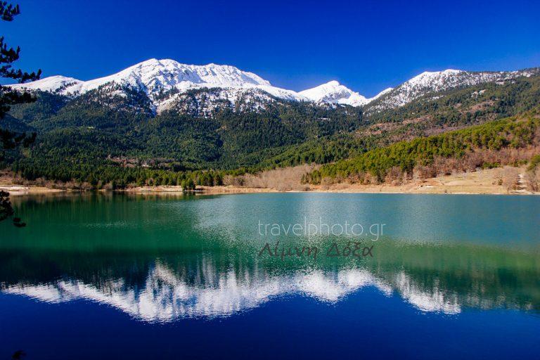 Doxa lake in Corithia