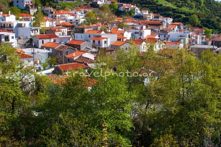 Steni village in central Evia