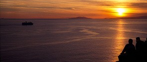 Ηλιοβασίλεμα στο Σούνιο