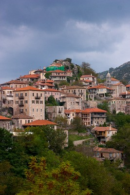 Dimitsana village in Arcadia