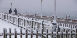 Χιόνια στην Αθήνα και την Αττική