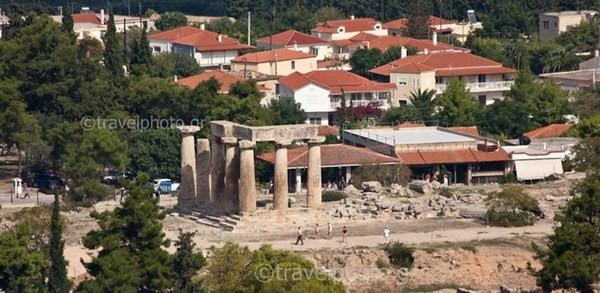 αρχαία-κόρινθος-ναός-απόλλωνα