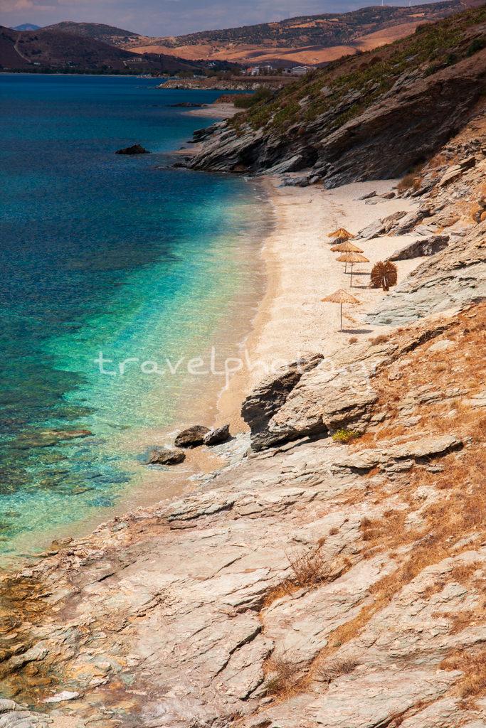 Παραλία στην Κάρυστο, Μπούρος, Νότια Εύβοια