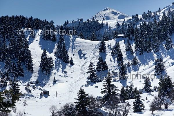 Χιονοδρομικό Μαίναλο Οστρακίνα
