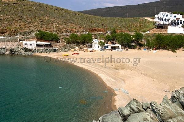 Kolimpithra Tinos beach
