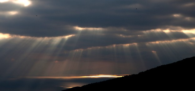 Sunrise in Pelion mountain