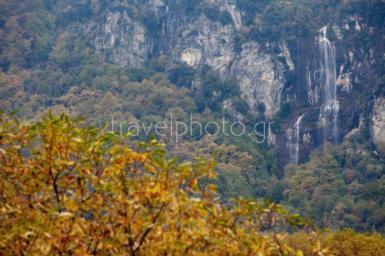 Pelion mountain waterfall Megalovrahos