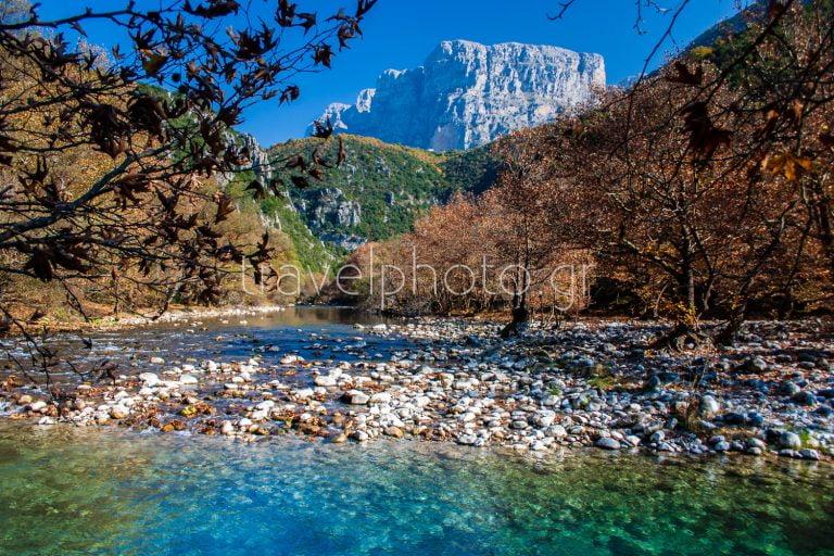 Voidomatis river in Zagori area