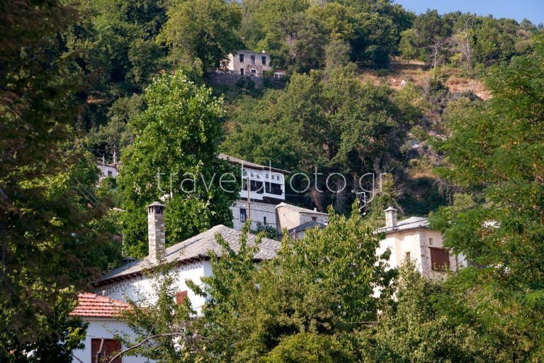 Vizitsa village in Pelion mountain