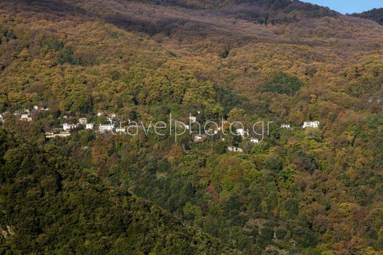 Tsagarada village in the heart of Pelion mountain