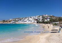 Παραλία και λιμάνι της Δονούσας, Σταυρός