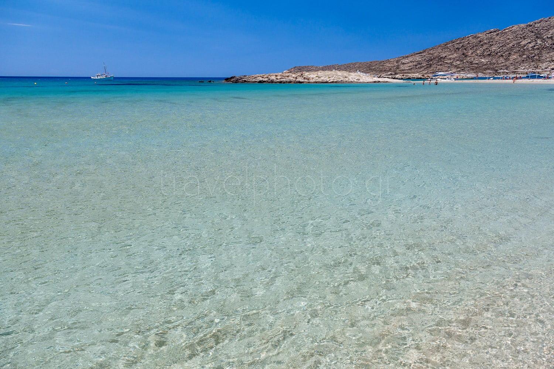 παραλία Μαγγανάρι στην Ίο.