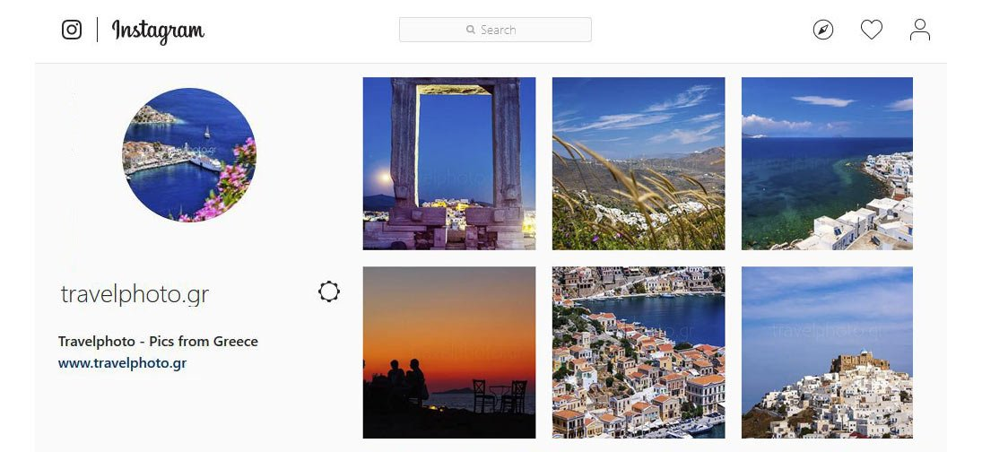 Follow travelphoto.gr on Instagram