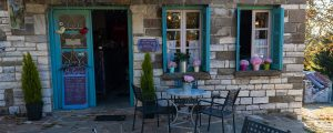 Traditional coffee shop in Kapessovo village, Zagori
