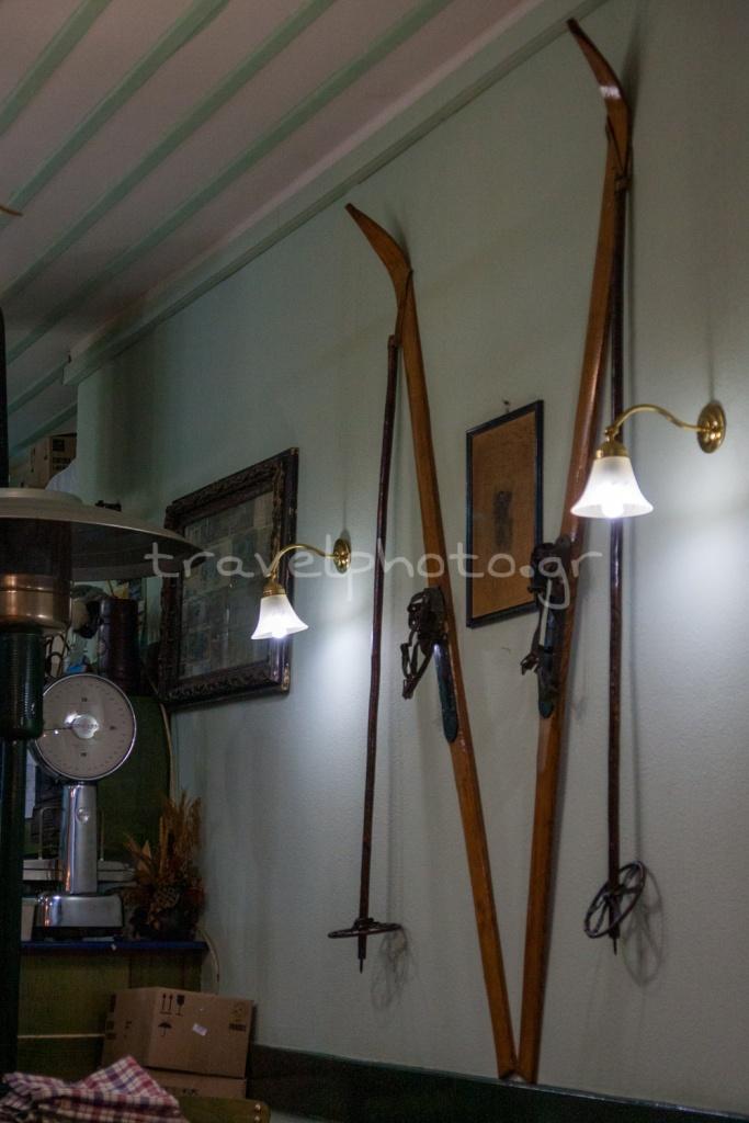 Παλιά πέδιλα σκι, Κρύα Λιβαδείας
