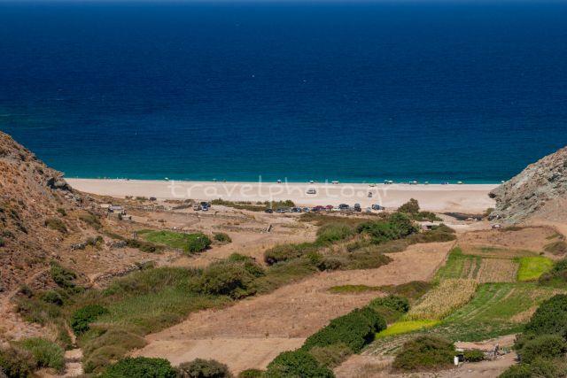 Παραλία Γιαννίτσι, νότια Εύβοια-Αιγαίο