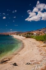 Η παραλία Μπούρος, Κάρυστος, Νότια Εύβοια