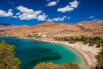 Η παραλία Άγαλμα, Κάρυστος, περιοχή Μπούρος